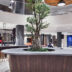 Reception and lobby in the new hotel complex in Moscow